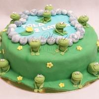 tort z zabkami