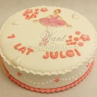 tort z baletnica