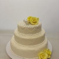 tort weselny w stylu angielskim