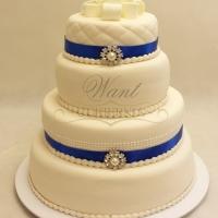 tort weselny w stylu angieskim