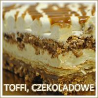 Ciasta czekoladowe, tofii - Cukiernia Want